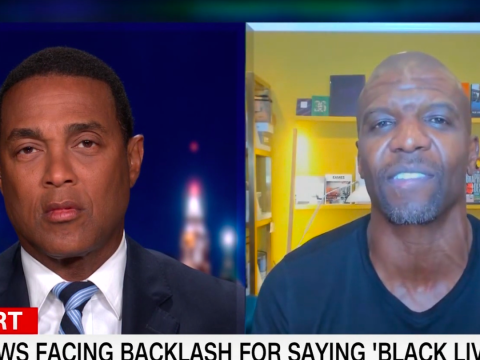 Terry Crews and Don Lemon clash over Black Lives Matter in tense debate