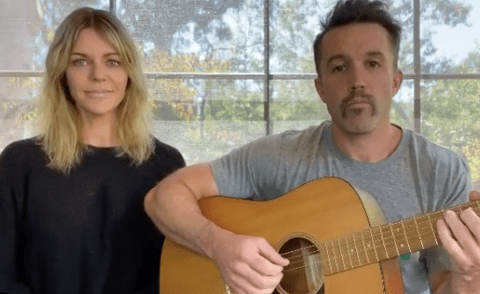 It's Always Sunny star Kaitlin Olson roasts husband Rob McElhenney after getting Emmy nod for a show he didn't write