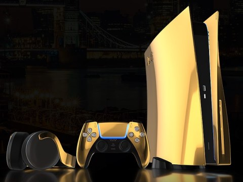 24K gold-plated PS5 limited edition console due out this year – and it looks expensive