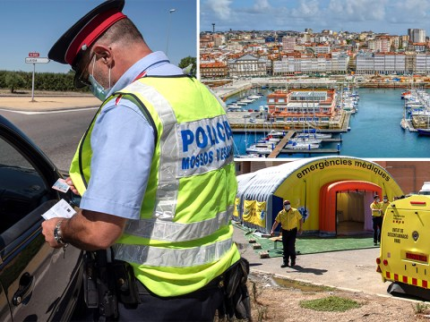 Second Spanish region back in lockdown as Brits head out for holidays