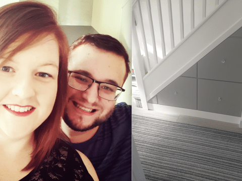 Couple quoted £1,000 for under-stair storage DIY it for just £175