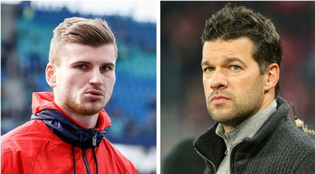 Michael Ballack has praised Timo Werner for joining Chelsea instead of Liverpool