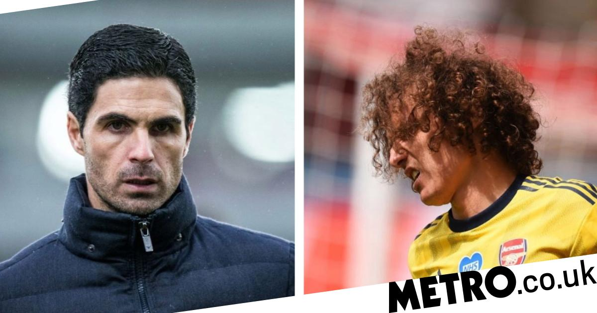 Mikel Arteta vows to address David Luiz's 'weaknesses' as he hails influence of Arsenal defender - metro