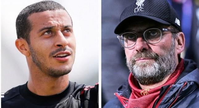 Jurgen Klopp has been urged to scrap Liverpool's transfer move for Thiago