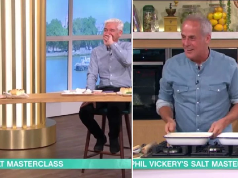 Phillip Schofield pokes fun at Phil Vickery's love life after cheeky cooking innuendo on This Morning: 'You've been alone a long time'