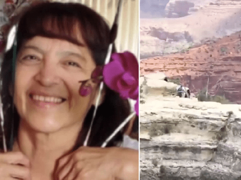 Anguished screams ring out as tourist, 59, falls to her death from Grand Canyon
