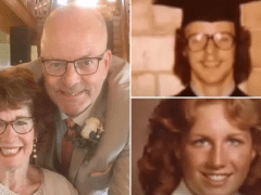 Childhood sweethearts finally wed 40 years after crash that left one of them disabled