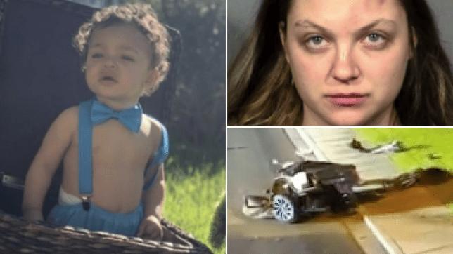 Royce Jones, Lauren Prescia, and the scene of the crash that killed Royce