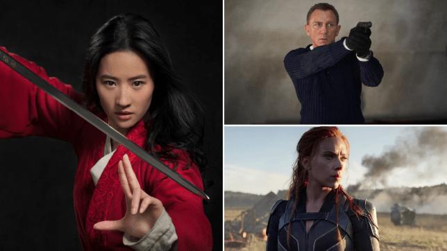 Liu Yifei, Daniel Craig, Scarlett Johansson