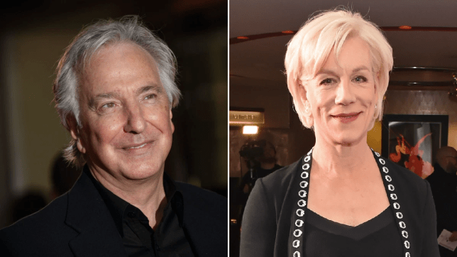 Alan Rickman and Juliet Stevenson