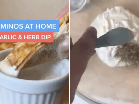 Man says he's created the perfect recipe to match Domino's garlic dip