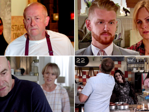 10 Coronation Street spoilers: Geoff finally destroyed, Sarah's sex scandal and sausage crisis