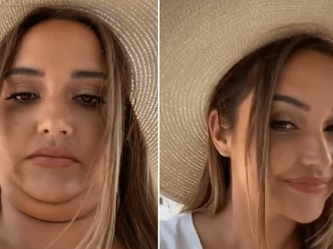 Jacqueline Jossa teaches us the golden rule of selfies and double chins as she soaks up the sun in Ibiza