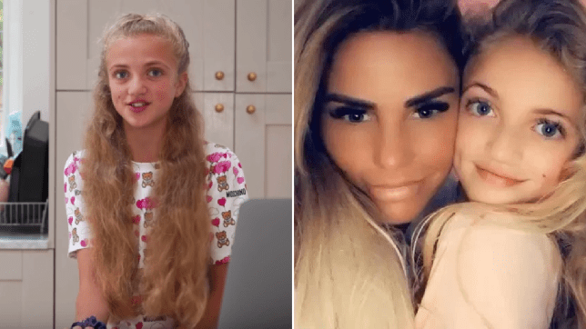 Katie Price daughter Princess YouTube channel