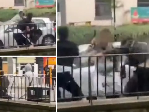 Boy, 15, stabbed and pulled from river after gangs clash at illegal rave