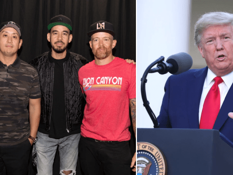Linkin Park issue cease and desist after Trump shares video featuring their music