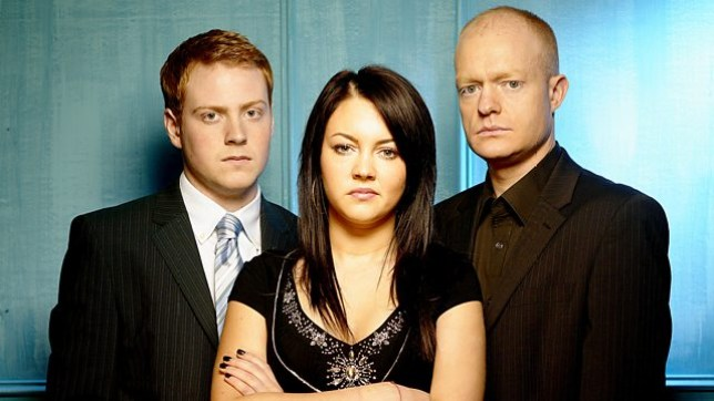 Max, Bradley and Stacey in EastEnders
