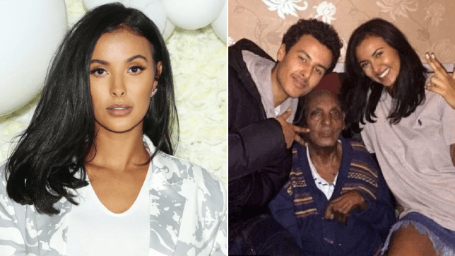 Maya Jama's grandfather dies