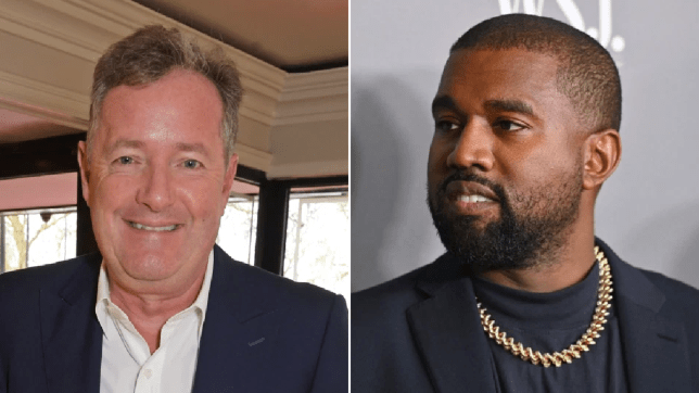 Piers Morgan and Kanye West