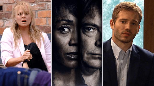 Sarah in Coronation Street, Denise and Ian in EastEnders, Jamie in Emmerdale