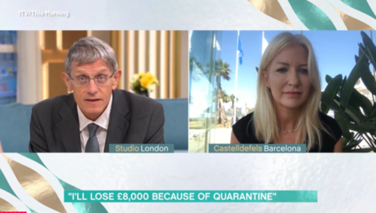 This Morning viewers 'disgusted' as expert talks 'loophole' when returning from Spain