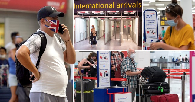Those returning from Spain now need to self-isolate for two weeks