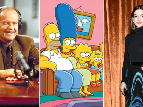 The Simpsons writers name Kelsey Grammer and Anne Hathaway as favourite guest-stars