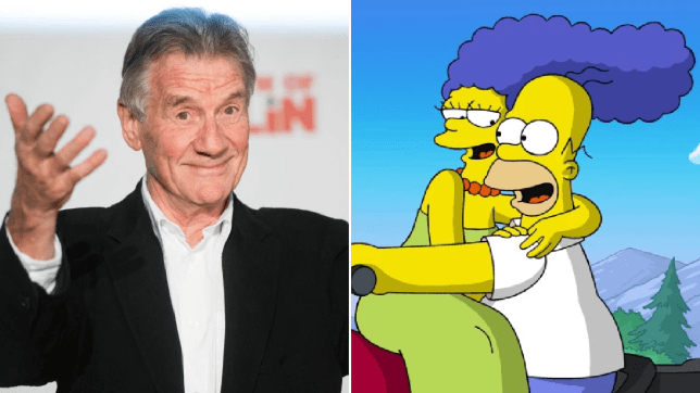 Sir Michael Palin The Simpsons