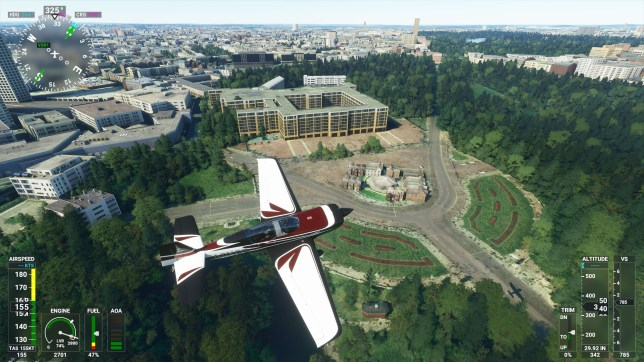 Microsoft Flight Simulator Buckingham Palace