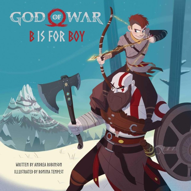 God of War: B is for Boy: An Illustrated Storybook