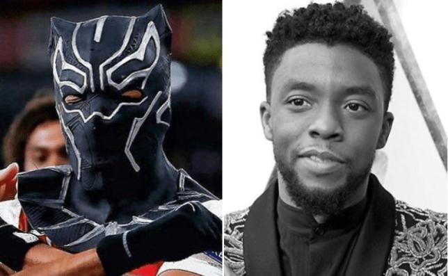Pierre-Emerick Aubameyang was inspired Chadwick Boseman's performance in Black Panther