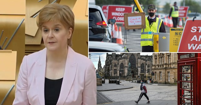 Scotland's First Minister Nicola Sturgeon has announced new measures to allay the spread of Covid-19 following a rise in cases north of the border