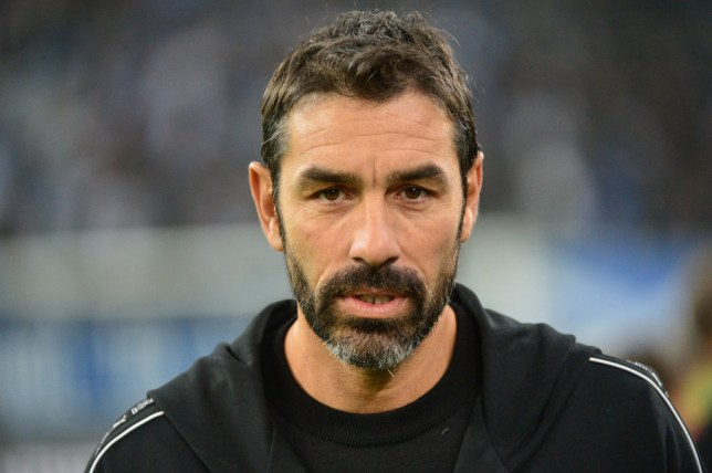 Former Marseille player Robert Pires during the Ligue 1 match between Olympique Marseille and Paris Saint Germain on October 28, 2018 in Marseille, France.