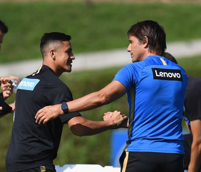 Alexis Sanchez's permanent move to Inter is expected to be confirmed on Thursday