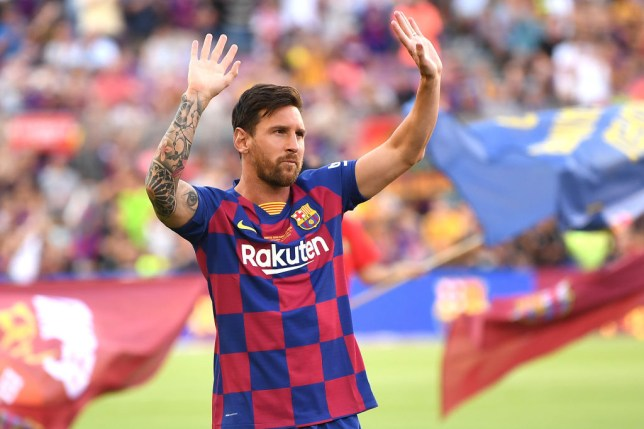 Lionel Messi has confirmed he will remain at Barcelona a fortnight on from handing in a transfer request