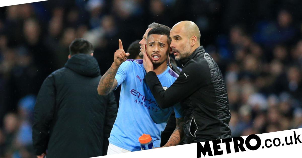 Pep Guardiola tells Man City chiefss to find Sergio Aguero replacement after growing unconvinced by Gabriel Jesus - metro