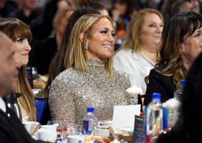 Jennifer Lopez at the 2020 Film Independent Spirit Awards