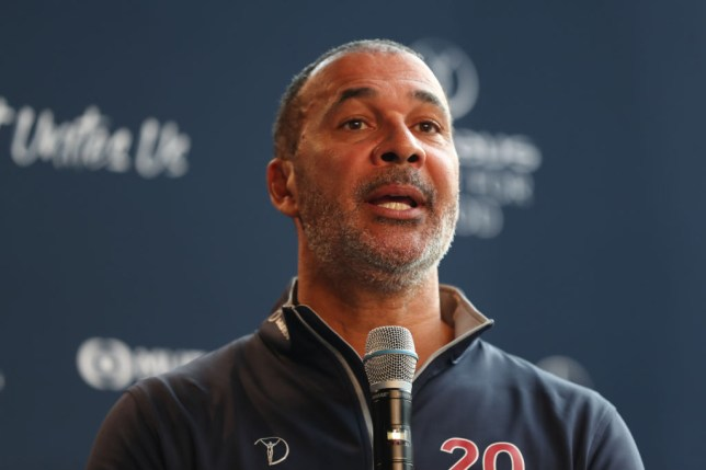 Laureus Academy Member Ruud Gullit speaks during the Football Coaches discussion at the Mercedes Benz Building prior to the Laureus World Sports Awards on February 17, 2020 in Berlin, Germany.