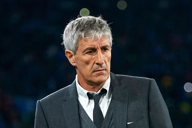 Barcelona officially sack Quique Setien as they close in on Ronald Koeman as his replacement