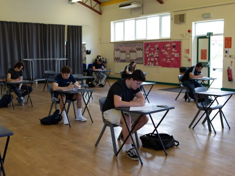 When is GCSE results day and how were this year's grades calculated?