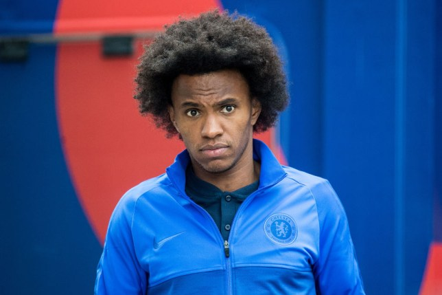 Willian appears destined to leave Chelsea with Arsenal his likely destination
