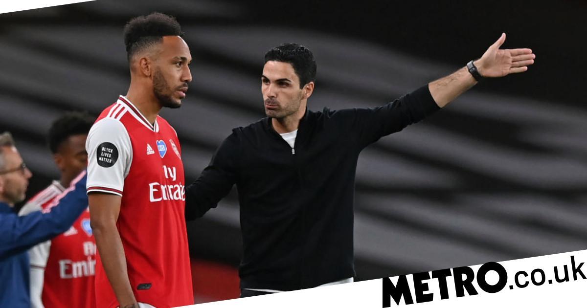 Mikel Arteta confident on Pierre-Emerick Aubameyang's Arsenal's future after FA Cup final win