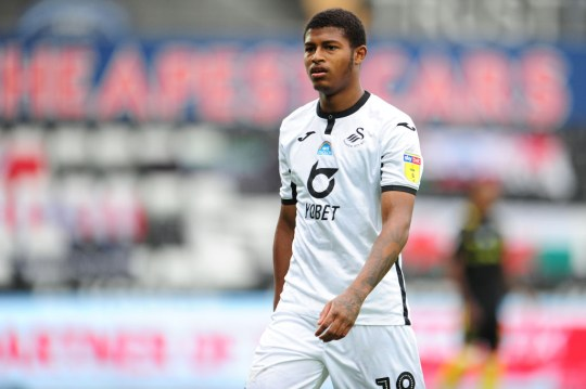 The youngster spent the season on loan at Swansea