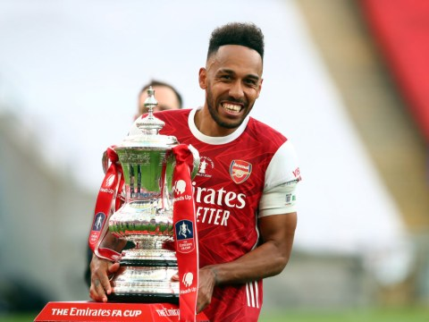 Arsenal captain Pierre-Emerick Aubameyang supported Man Utd as a child because of two stars