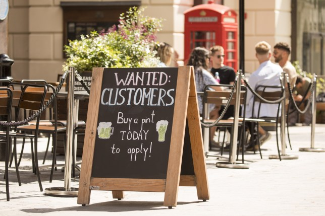 Restaurants Get Creative To Entice Back Diners With Subsidy.