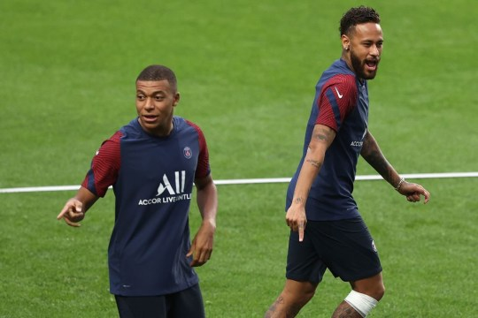 Kylian Mbappe has been struggling to overcome an ankle injury