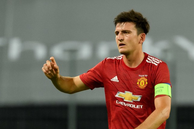 Manchester United's harry Maguire