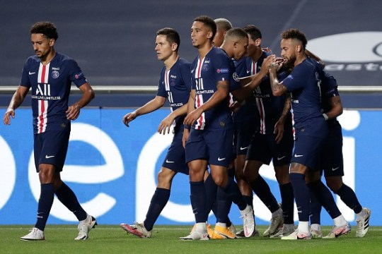 PSG produced an impressive performance in the semi-final in Lisbon
