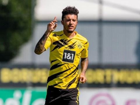 Dortmund claim Manchester United are yet to open talks for Jadon Sancho
