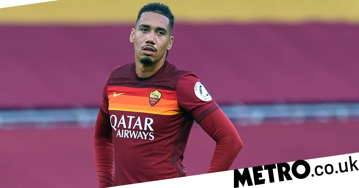 Chris Smalling 'gutted' as he returns to Manchester United from Roma loan spell - metro